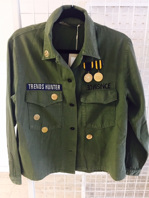 Military inspiration from Off The Rails Fashionista