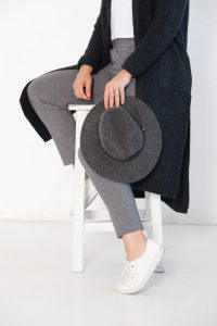 Grey hat from Off The Rails Fashionista