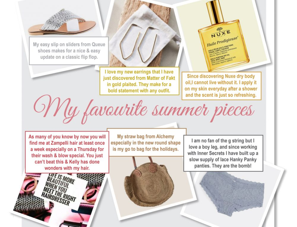 A few of my favourite items for summer