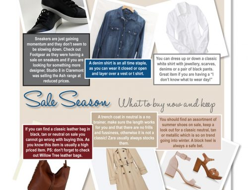 Sales – What to buy now and keep