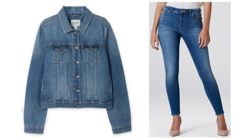 Double the Denim from Off The Rails Fashionista
