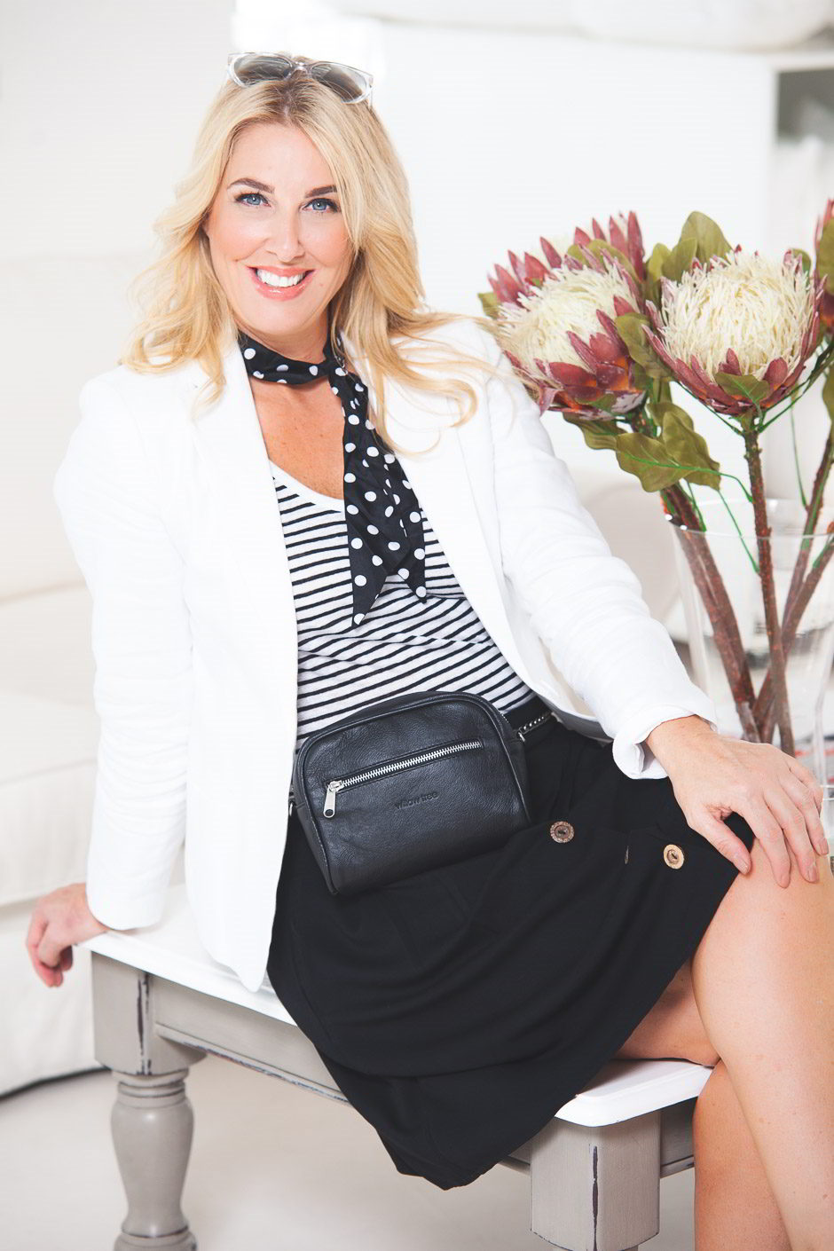 A Timeless Trend - Black & White from Off The Rails Fashionista
