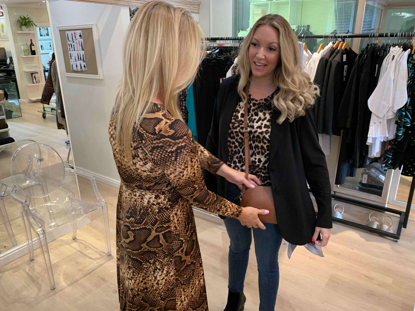 Styling Bailey Schneider at Habits Fashion from Off The Rails Fashionista