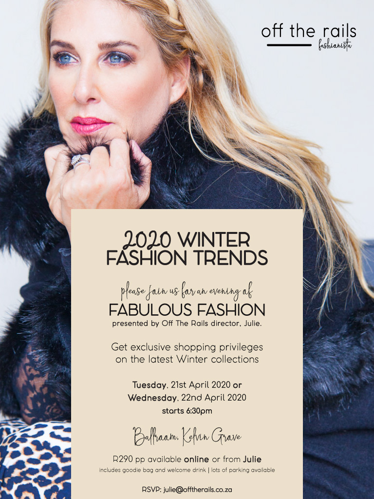 Spice Up Your Winter Wardrobe from Off The Rails Fashionista