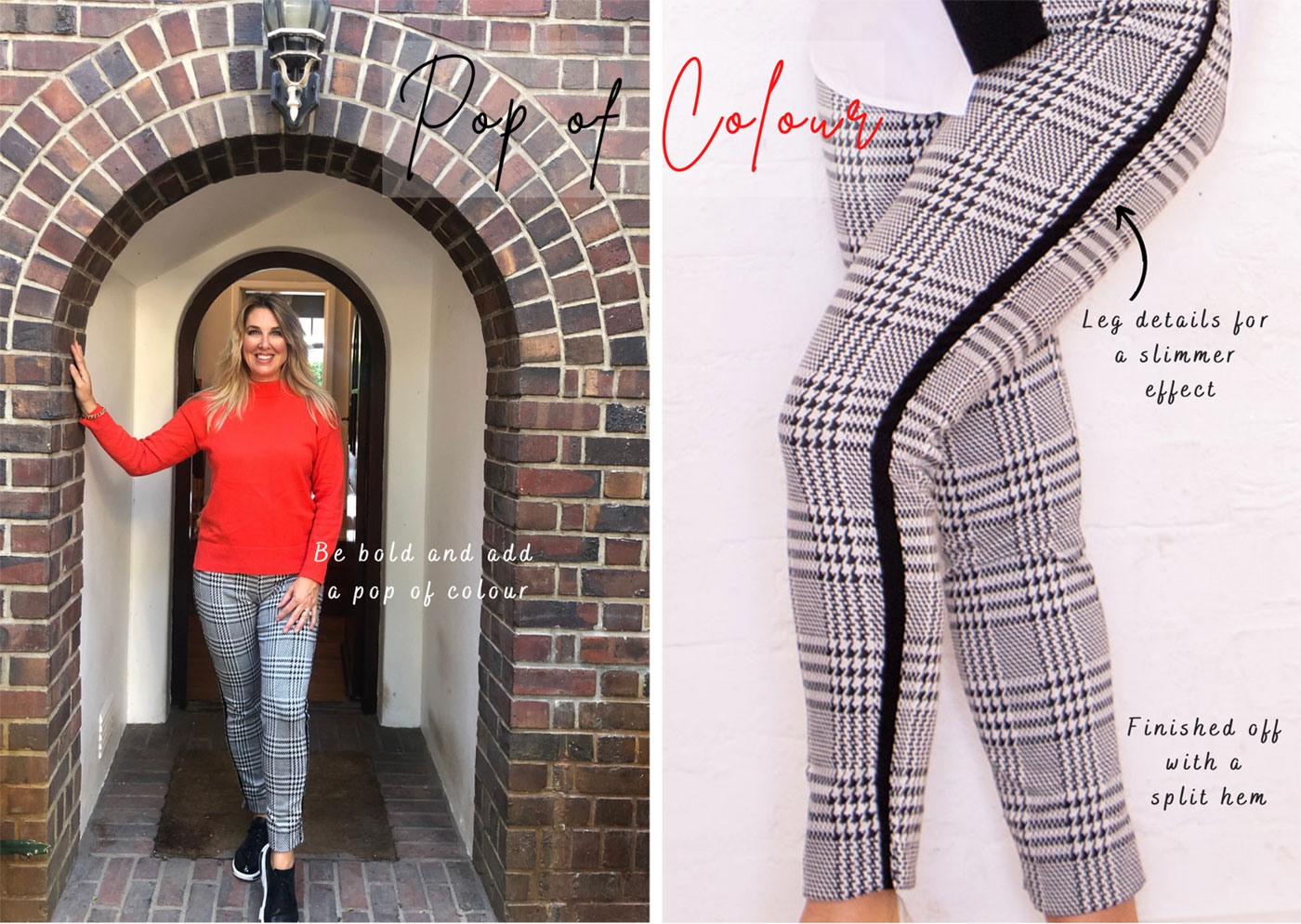 Pretty in Print Pants from Off The Rails Fashionista